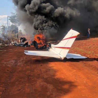 Incendio de avión, robo de alcancías, muerte en moto y PREPOTENCIA en Paraná Country Club