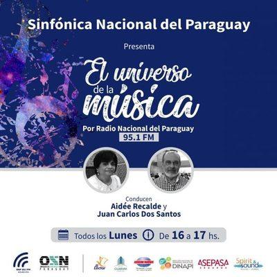 Programa radial de la OSN recordará 147 años de presentación de una versión del himno paraguayo