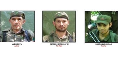 Abatidos del EPP recibieron los disparos de larga distancia