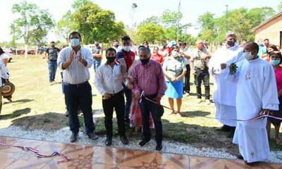 Caazapá: Inauguran nueva capilla en Rosario Guavirá Punta