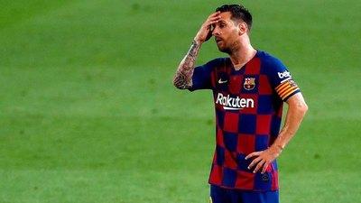 Koeman deja fuera a Messi del Barcelona ante Dinamo de Kiev