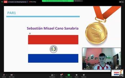 ¡Orgullo de un país! Joven paraguayo obtiene medalla de oro en Olimpiada Iberoamericana de Matemática