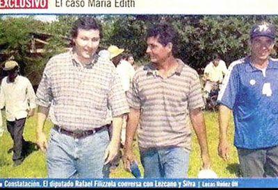 Periodista aclaró que foto entre Filizzola y Lucio Silva fue durante su entrega en 2002