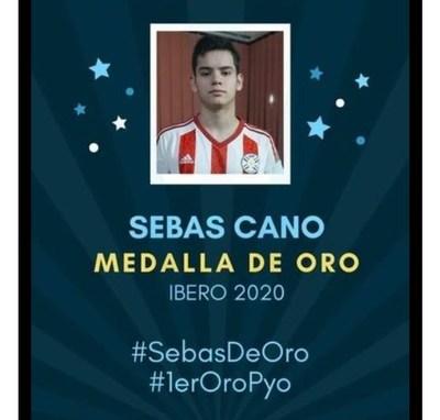 Joven Paraguayo logró medalla de oro en Olimpiadas Iberoamericana de Matemáticas