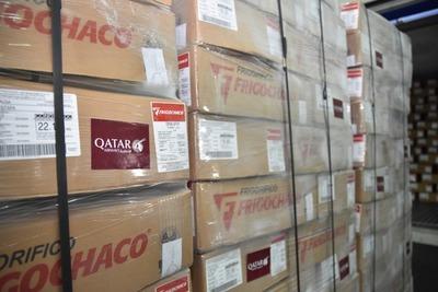 FrigoChaco retomó embarques para proveer de carne vacuna a Qatar Airways