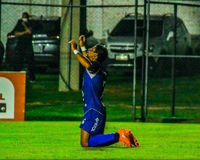 Jorge Benítez anota el gol para aplaudir
