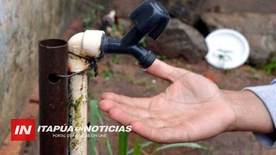 PRONÓSTICO DESALENTADOR SOBRE FALTA DE AGUA PARA EL VERANO