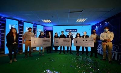HOY / Cervepar premió a cuatro emprendimientos en final de Impulsa