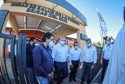 Gobierno habilitó 4 nuevas Unidades de Salud Familiar en Central