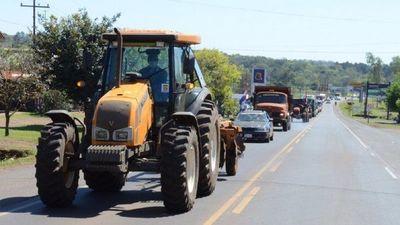 Productores marchan desde Itapúa para pedir al Gobierno condonación de deudas
