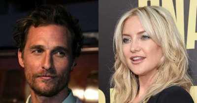 Matthew McConaughey responde a los dichos de Kate Hudson sobre sus 'malos besos'