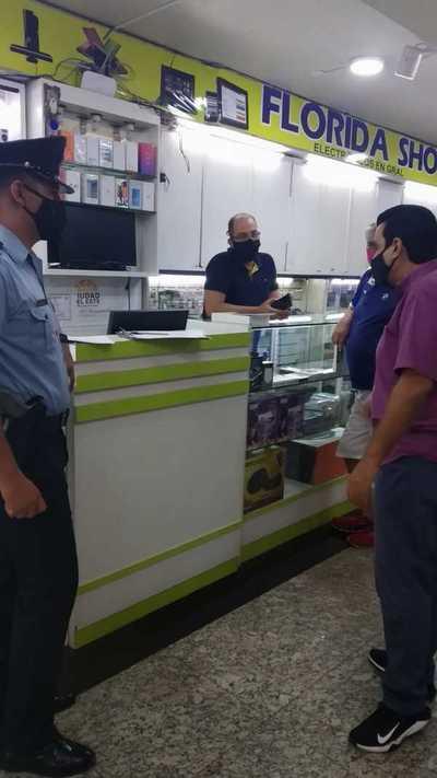 Libanés estafa a brasileño en el microcentro de CDE