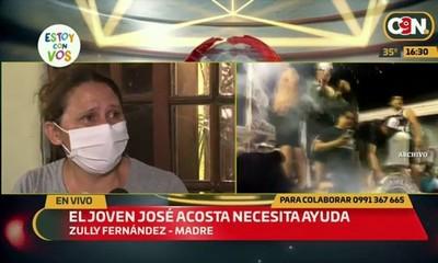 San Lorenzo: José Acosta necesita de nuestra ayuda