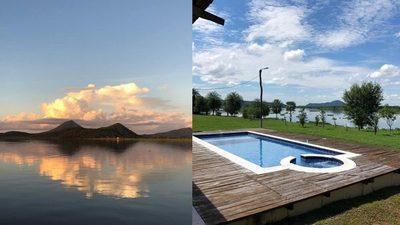 Paraíso de lujo a orillas del río Paraguay