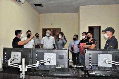 Anuncian interconexión del sistema de monitoreo de la comuna de Salto con el sistema 911