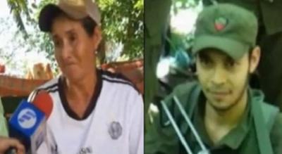 Madre de uno de los abatidos llorando pidió a su otro hijo que se entregue