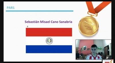 Medalla de oro para Paraguay en Olimpiada Iberoamericana de Matemática