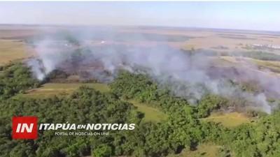 BOMBEROS PRESENTARÁN DENUNCIA POR LA QUEMA INTENCIONAL DE LAS RESERVAS FORESTALES