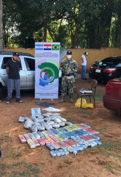 Procesado por intentar llevar 50 kilos de marihuana al Brasil
