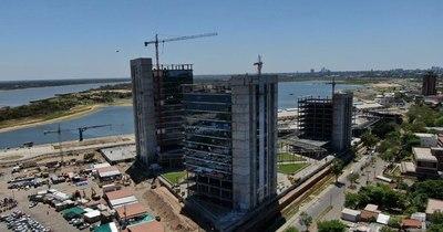 La Nación / Oficinas de gobierno registran 75% de avance en las obras