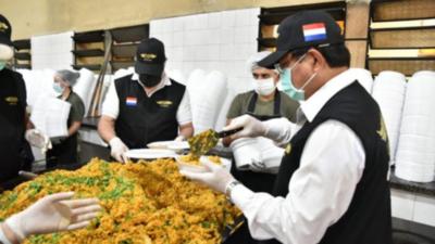 A través de campaña ya entregaron más de 330.000 platos solidarios