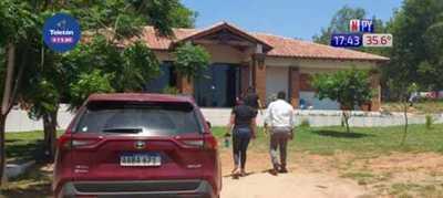 Allanan vivienda del intendente de Acahay
