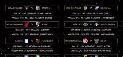 Libertad y Guaraní, los paraguayos en los octavos de final de la Libertadores