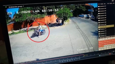 Terrible accidente entre motocicletas deja un herido en Sajonia