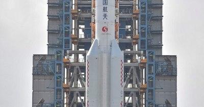 La Nación / China lanza una sonda para traer muestras de la Luna