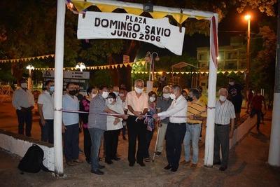 Inauguraron obras de la Itaipú Binacional en Barcequillo
