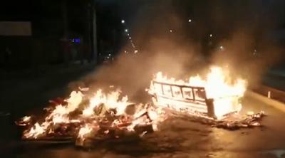 Protestas en Chile contra la iniciativa de Piñera de buscar la inconstitucionalidad de un nuevo retiro de fondos