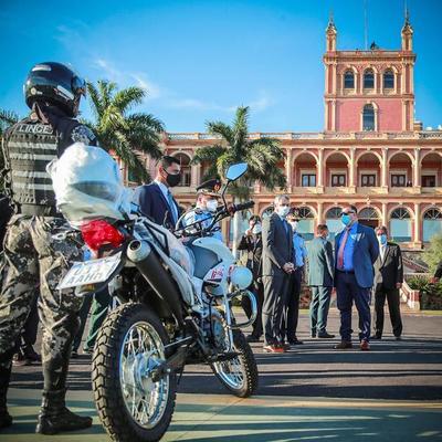 adquieren más motocicletas para la Policía Nacional