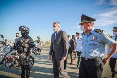 Policía Nacional se equipa con 47 motocicletas paraguayas