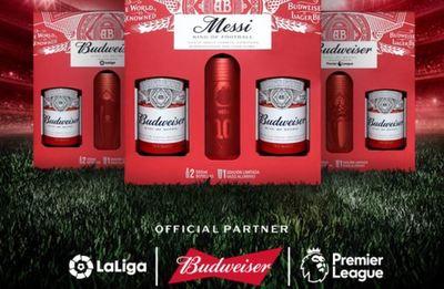 Budweiser lanza Gift Pack con vasos de aluminio coleccionables