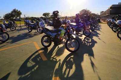 Policía Nacional adquiere 48 motocicletas para reforzar patrullajes