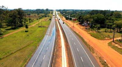 Se habilitará al tráfico el primer tramo de duplicación en Caaguazú
