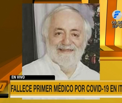 Médico falleció por Covid-19 en Itapúa