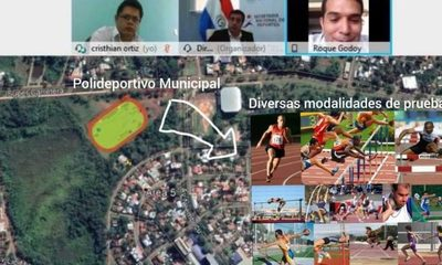 Proyectan obras para Pista de Atletismo en Franco