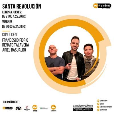 Santa Revolución con Francesco Fiorio