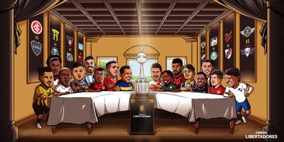 Arrancan los octavos de final de la Copa Libertadores