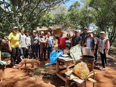 SOLIDARIDAD: GRAN COMILONA EN SAN RAFAEL DEL PNÁ