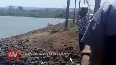 ADOLESCENTE AMENAZÓ CON LANZARSE DESDE EL PUENTE TACUARY