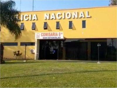 Cierran temporalmente Comisaría de San Estanislao por casos de Covid-19