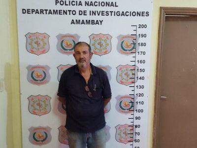 Capturan a ex intendente brasileño buscado por supuesto estupro