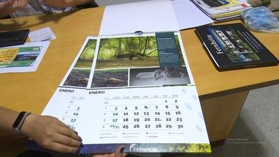 Arman calendario con temática faunística