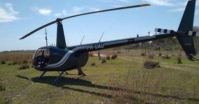 La Nación / Helicóptero brasileño sin plan de vuelo desciende en un asentamiento en Ñeembucú