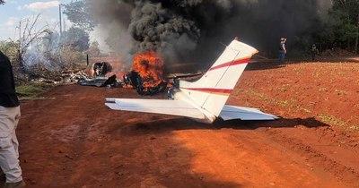 La Nación / Confirman que avión siniestrado en Itakyry transportaba cocaína