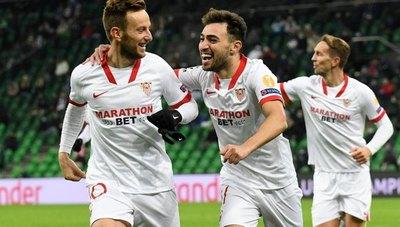 Sevilla ganó de visitante y aseguró su pase a octavos de Champions