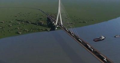 La Nación / Futuro puente garantizará libre navegación del río Paraguay