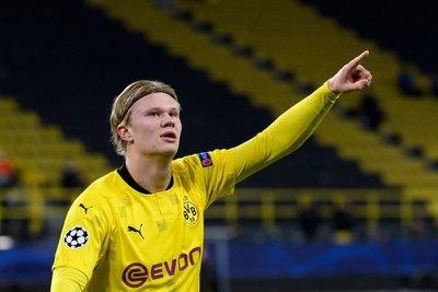 Otro 'show' de Haaland en la goleada del Dortmund